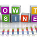3d buzzword text 'grow the business'
